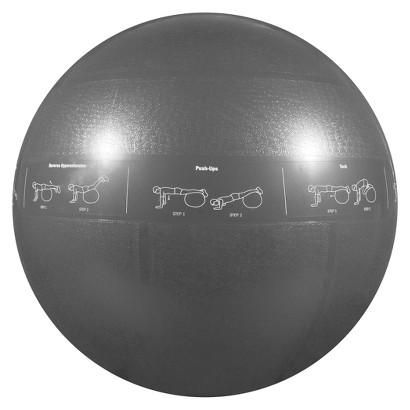 GoFit Pro Stability Ball - Gray (75cm)