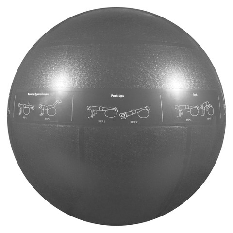 GoFit Pro Stability Ball - Gray (75cm)