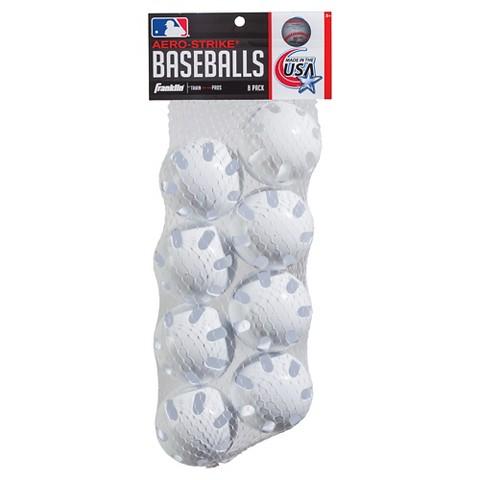 Hero-Strike MLB Plastic Baseballs 8pk