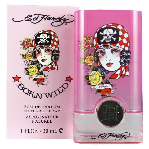 Women's Ed Hardy Born Wild Eau de Parfum - 1.0 oz