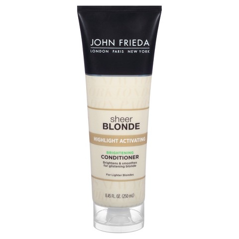 John Freida Sheer Blonde Conditioner Lighter Blondes - 8.45 oz