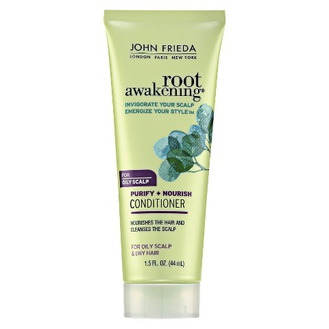 John Frieda Root Awakening Purify and Nourish Conditioner-Trial Size 1.5 oz.