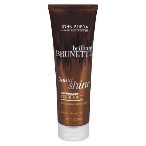 John Frieda Brilliant Brunette Liquid Shine Conditioner - 8.45