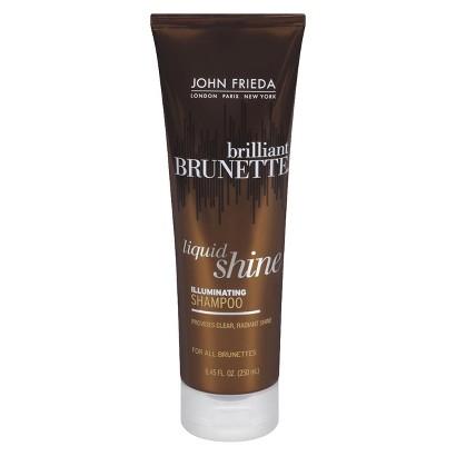 John Freida Brilliant Brunette Liquid Shine Shampoo - 8.45