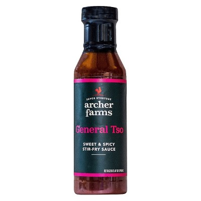 General Tso Stir-Fry Sauce 13.5oz - Archer Farms™