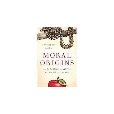 Moral Origins (Hardcover)