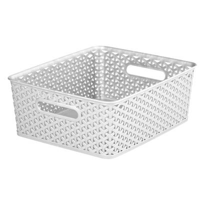 Room Essentials™ Y-Weave Medium Storage Basket - Set of 4