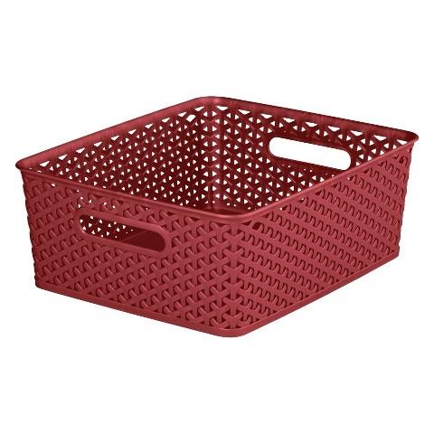 Y Weave Medium Storage Bin Set of 4 - Room Essentials™