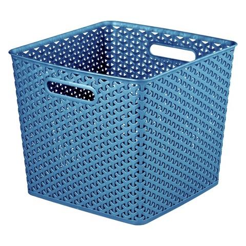 Room Essentials™ Y-Weave X-Large Storage Baskets - Set of 4