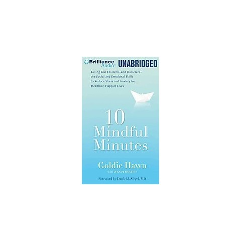 10 Mindful Minutes (Unabridged) (Compact Disc)
