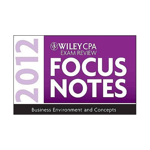 Wiley CPA Exam Review Focus Notes (Spiral)