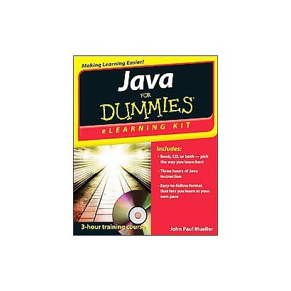 Java Elearning Kit for Dummies (Mixed media product)