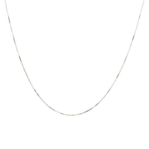 10k White Gold Snake Chain Necklace