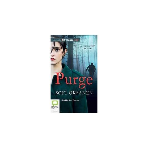 Purge (Unabridged) (Compact Disc)
