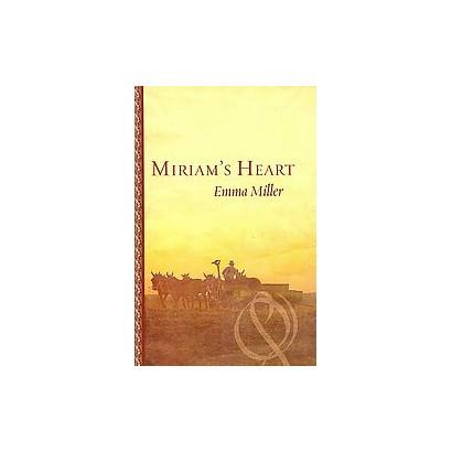 Miriam's Heart (Large Print) (Hardcover)