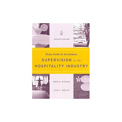 Supervision in the Hospitality Industry (Study Guide) (Paperback)