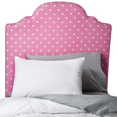 Polka Dot Kids Headboard