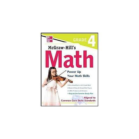 Mcgraw-hill Math Grade 4 (Paperback)