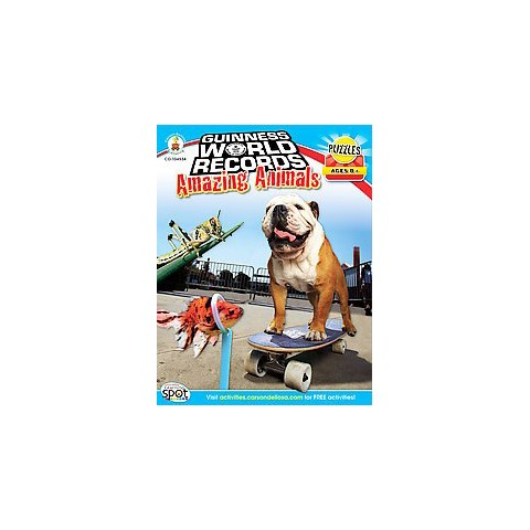 Guinness World Records Amazing Animals (Paperback)