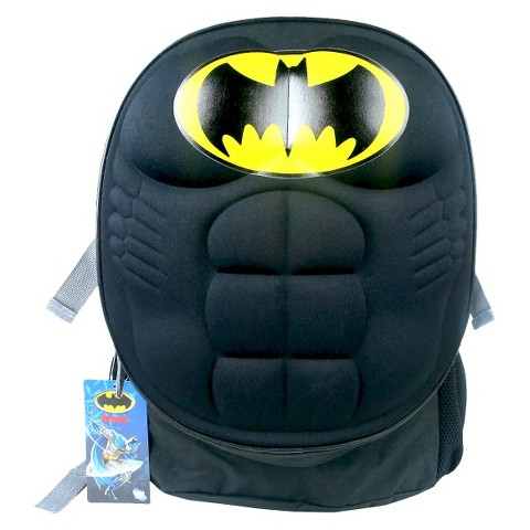 Warner Brothers Batman Backpack - Black