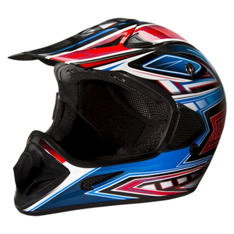 Off-Road Red and Blue Helmet - Assorted Sizes