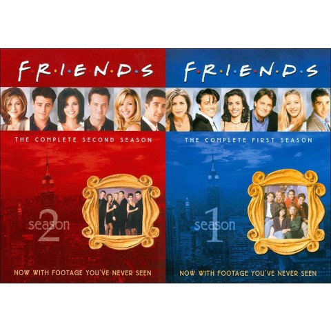 Friends: The Complete First and Second Seasons (8 Discs)