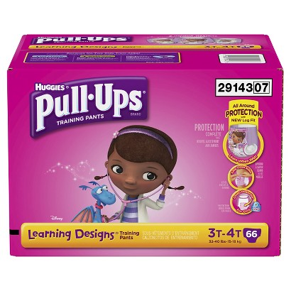 Pull-Ups® Training Pants with Learning Designs for Girls Giga Pack (Select Size)