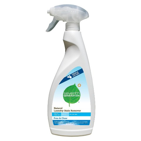 Seventh Generation Natural Laundry Stain Remover - Free and Clear (22 oz)