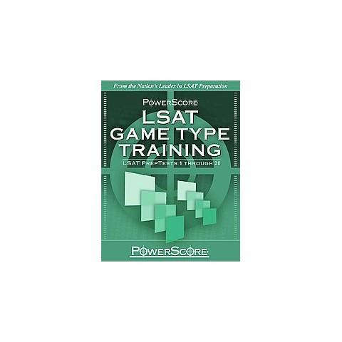 LSAT Game Type Training: (Paperback)