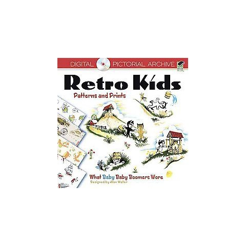 Retro Kids Patterns and Prints (Mixed media product)