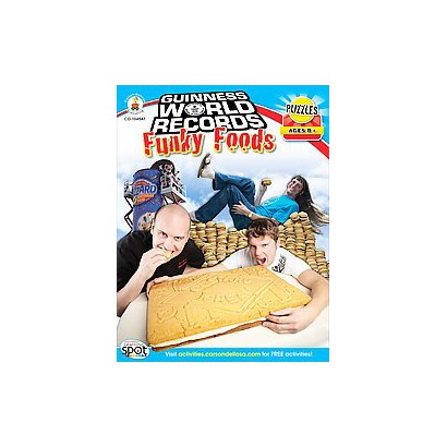 Guinness World Records Funky Foods (Paperback)