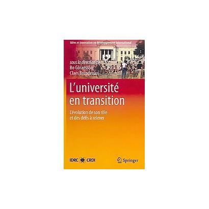 L' universite En Transition (Hardcover)