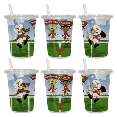 Texas Longhorns 2pk Sip & Go 10oz