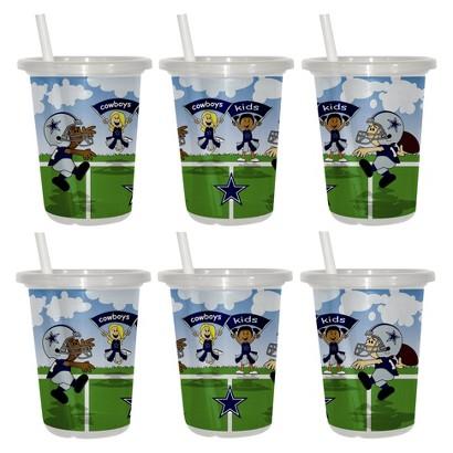 Dallas Cowboys 2pk Sip&Go 10oz