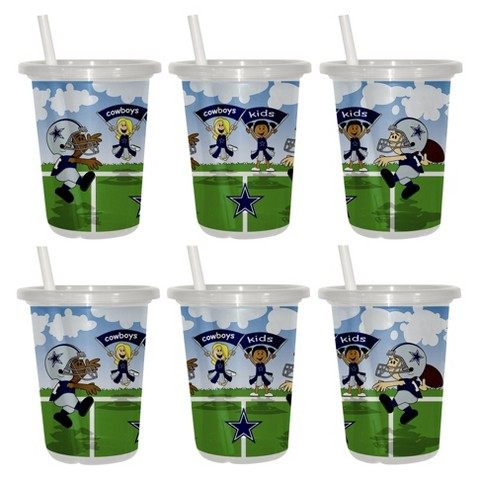 Dallas Cowboys 2pk Sip&Go 10oz