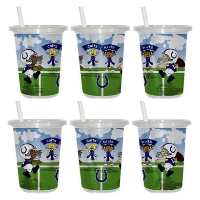 Indianapolis Colts 2pk Sip&Go 10oz