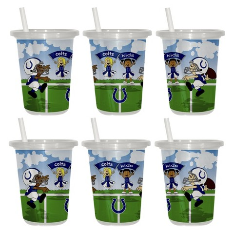 Indianapolis Colts 2pk Sip&Go 10oz