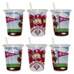 Phila Phillies 2pk Sip&Go 10oz