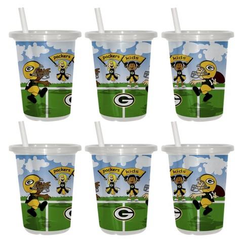 Green Bay Packers 2pk Sip&Go 10oz