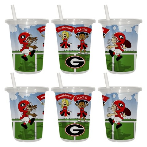 Georgia Bulldogs 2pk Sip & Go 10oz
