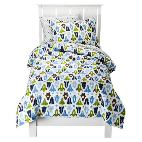 Space Comforter & Sham Set