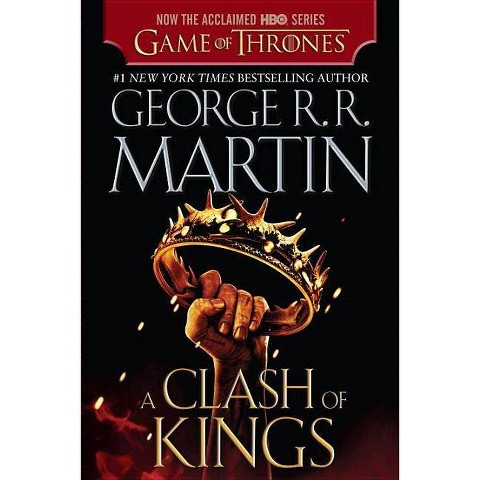 A Clash of Kings by George R. R. Martin (HBO Tie-in Edition) (A Song of Ice and Fire #2) (Paperback)