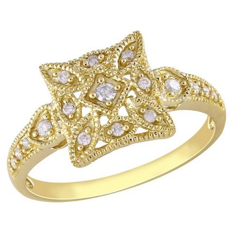 Diamond Ring yellow