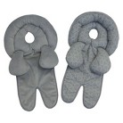 Boppy Infant and Toddler Head Support for Car Seats - Grey