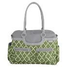 JJ Cole Canvas Satchel Bag - Green Arbor