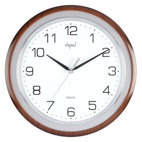 Opal Clock with ABS Case and Dome Glass