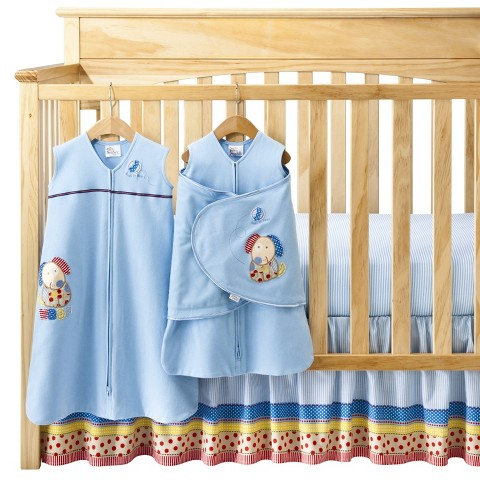 Halo SleepSack 5-piece Bumper-Free Crib Set  My Dog Sam