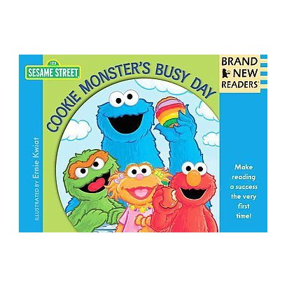 Cookie Monster's Busy Day (Hardcover)
