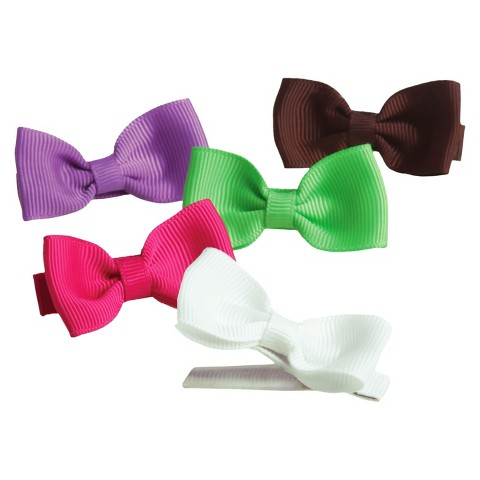 Goody® Girls' 5Ct Bow Salon Clips