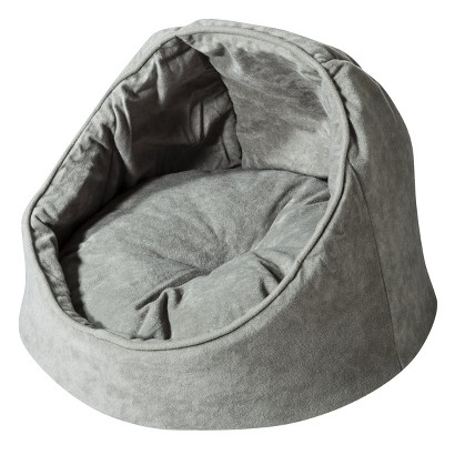 """Aspen Willow Green Hooded Cat Bed - 16"""""""